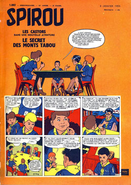 Image result for couverture du spirou 1082