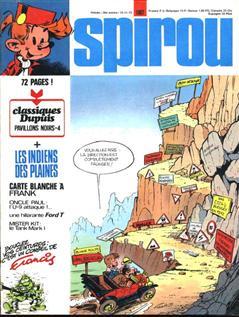 Supplément Spirou Classiques Dupuis Felix Tillieux N° 170
