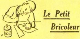 Petit bricoleur dans le journal de mickey - Les petits bricoleurs ...